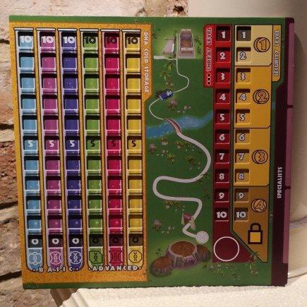 Duelosaur Island - Player Board