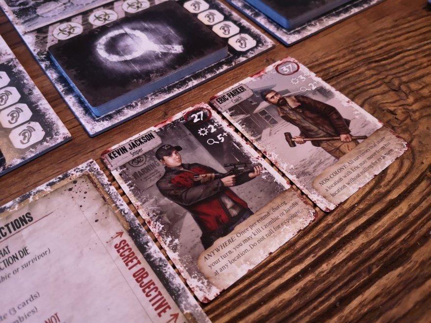 Dead of Winter: The Long Night Characters - Kevin and Eric