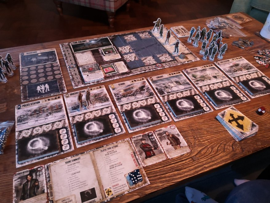 Dead of Winter: The Long Night Characters
