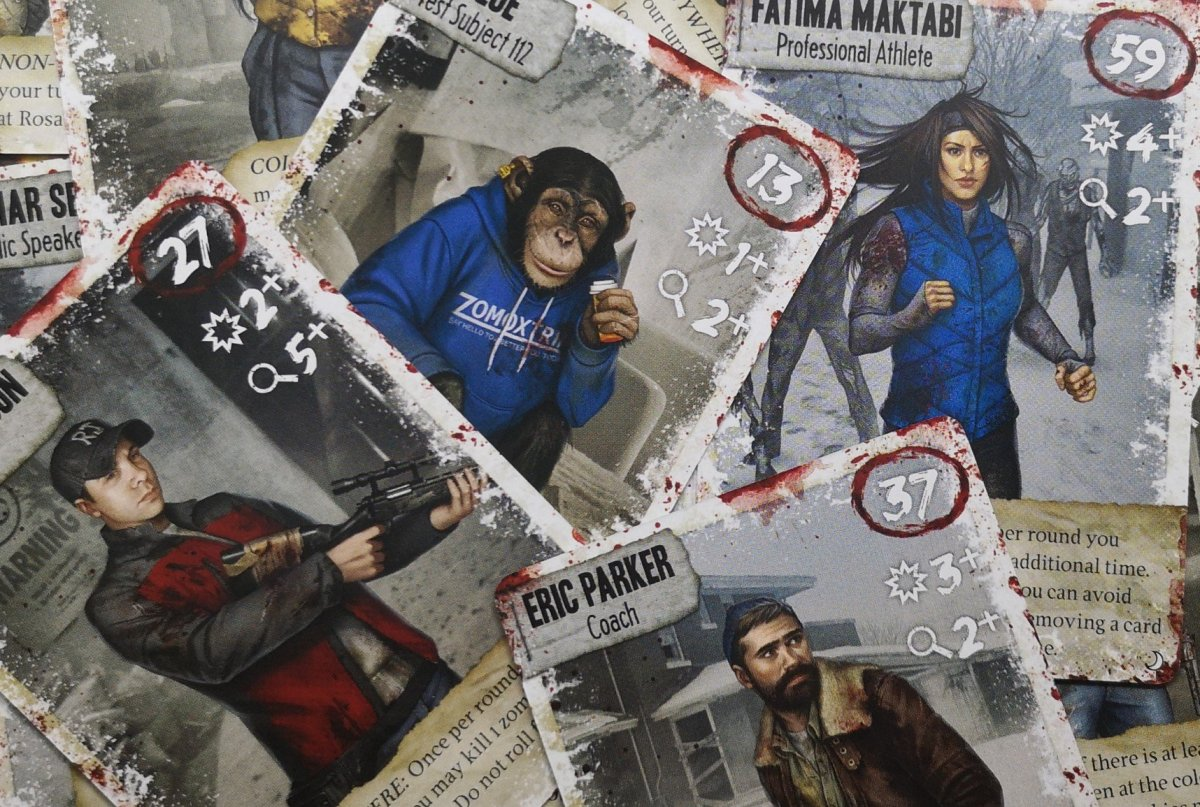 Dead of Winter: The Long Night Characters: A Closer Inspection image