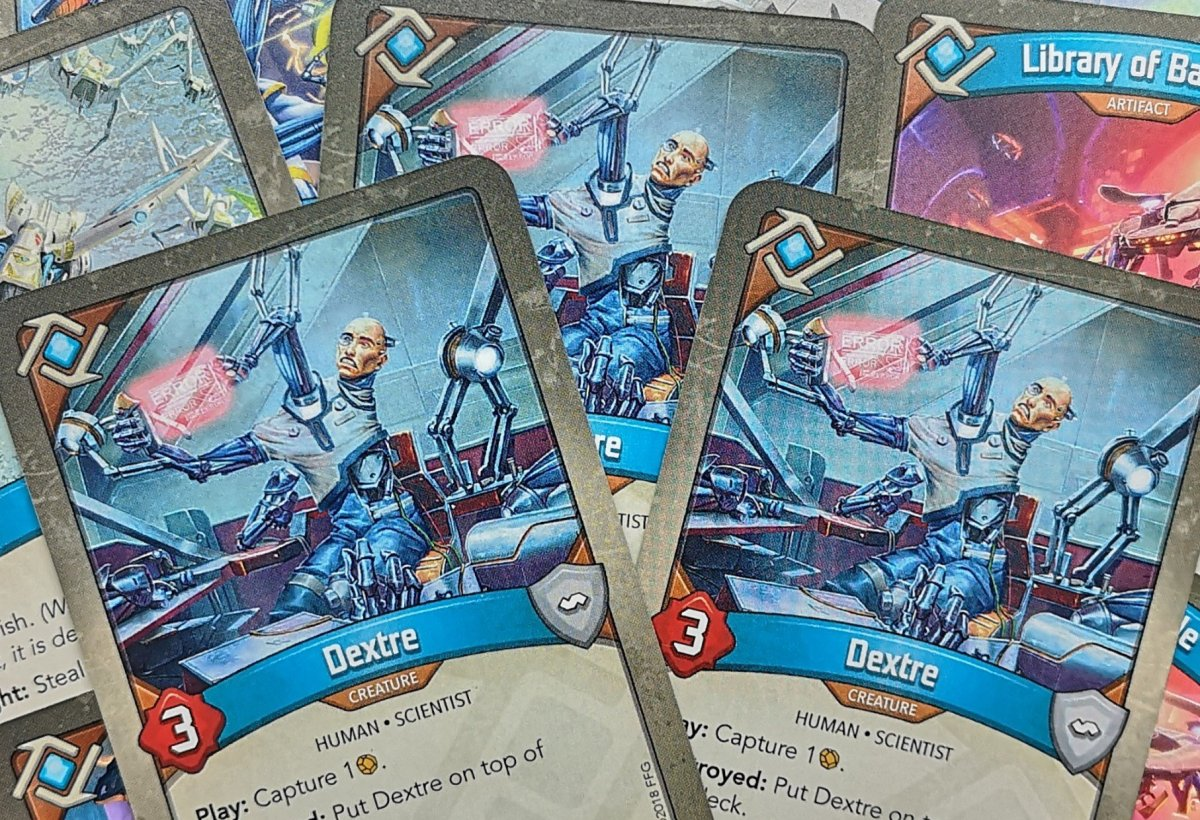Keyforge Analysis: There's Something About Dextre image