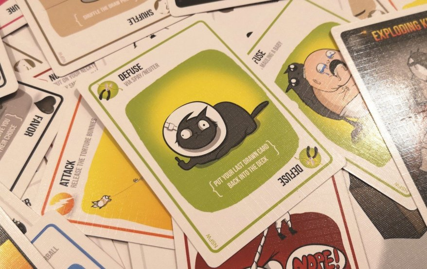 How To Win At Exploding Kittens - Defuse