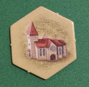 Church Castles of Burgundy Buildings