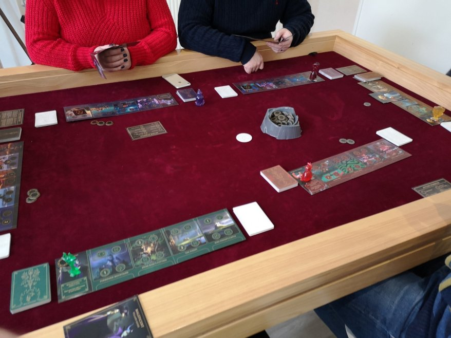 Maleficent at the start if a six player game.