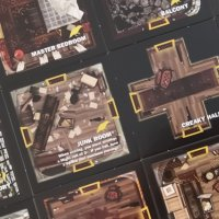 Betrayal At House On The Hill Rooms - A Strategy in 9 Graphs