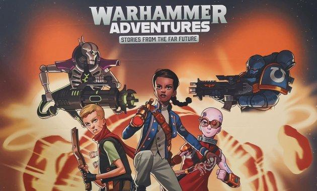 Warhammer Adventures Banner - UKGE