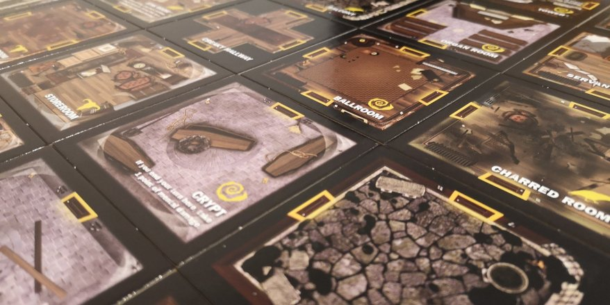 Betrayal at House on the Hill Room Tiles
