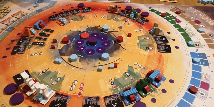 CO2: Second Chance - A very colourful game.
