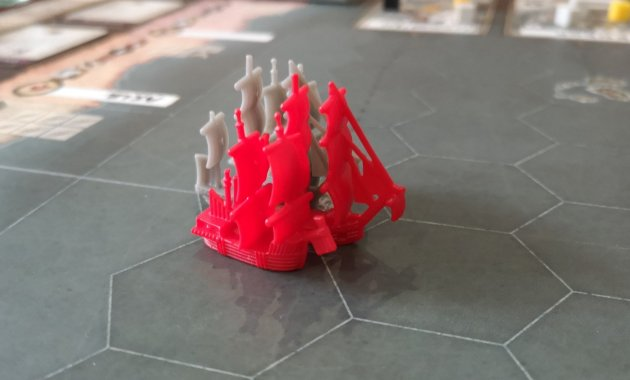 Red and Grey in Seafall