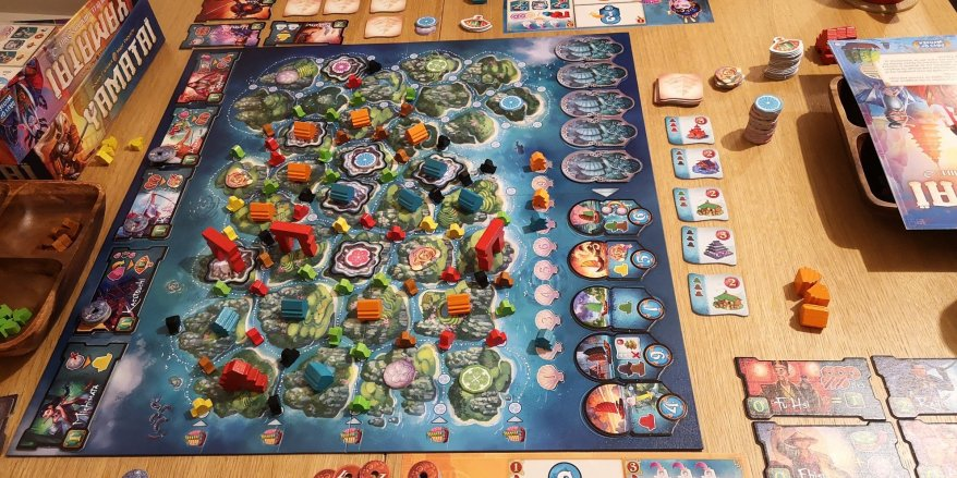 Yamatai Review - The Board