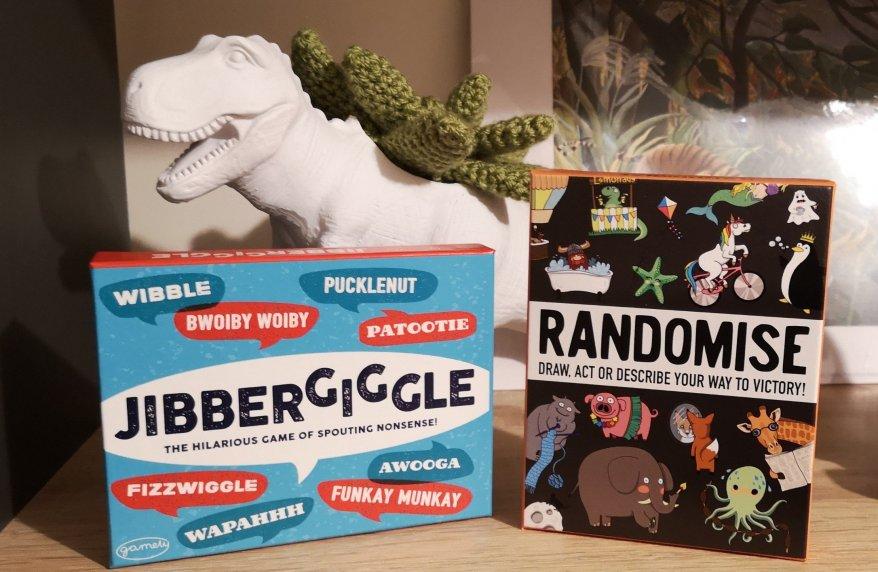 Jibbergiggle and Randomise