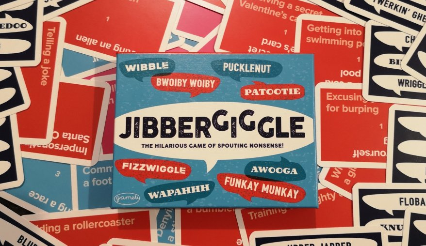 Jibbergiggle - The Hilarious Game of Spouting Nonsense