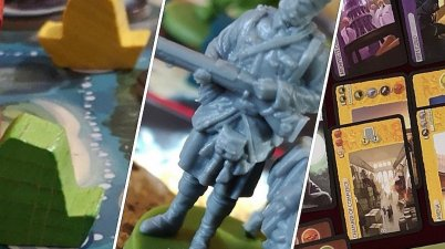 3 games by 3 awesome board game designers