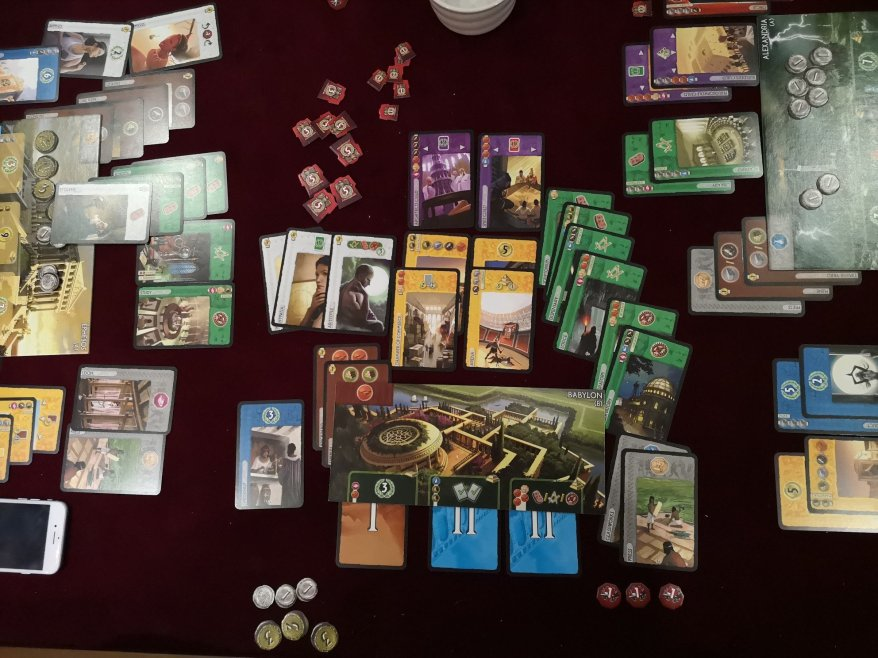Best Board Game Designers - 7 Wonders
