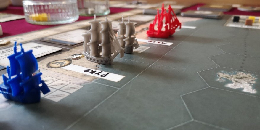Seafall Review - Ships at Port