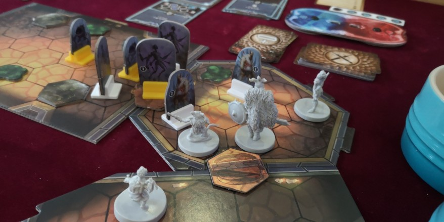 Gloomhaven tips - the party entering combat