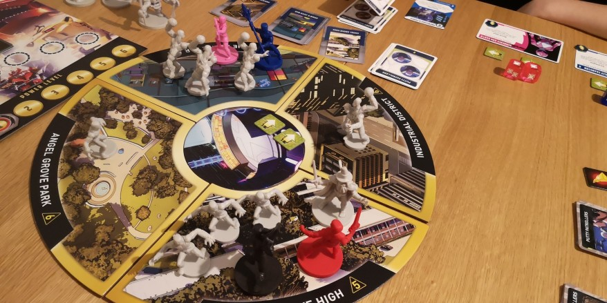 Power Rangers Heroes of the Grid Review - Whole Board