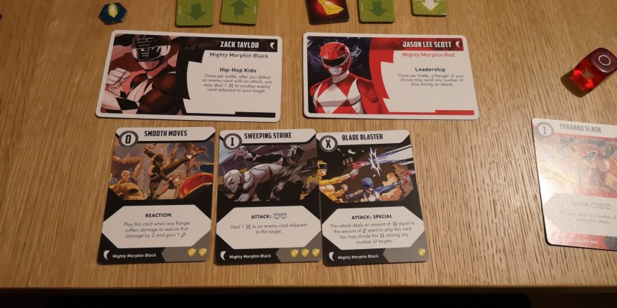 Power Rangers - Heroes of the Grid Review - Black Ranger Cards