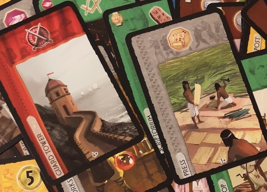 7 Wonders Strategy - 7 Wonders Cards Up Close