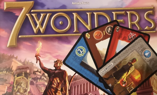 7 Wonders Board Game Strategy Introduction