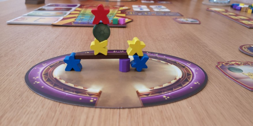 Meeple Circus Performance