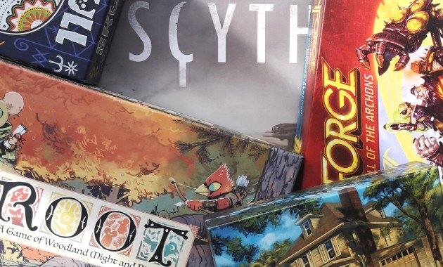 5 Board games with Super Awesome Art