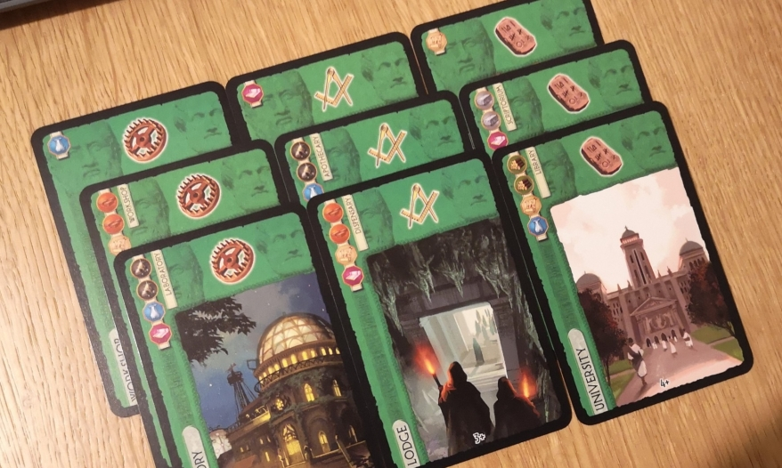 Scientific Structures and Science in 7 Wonders