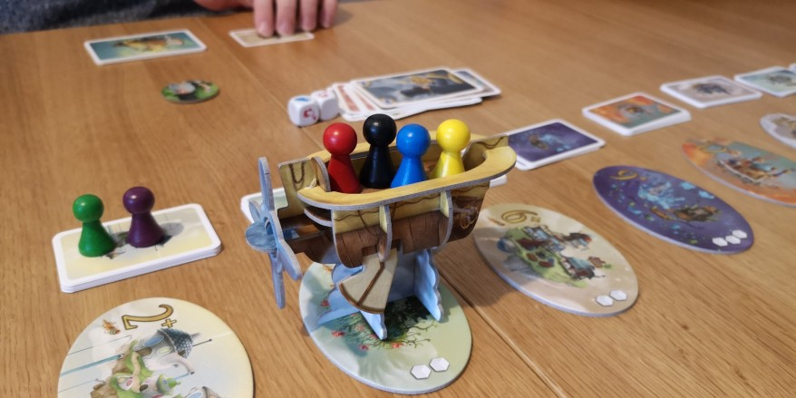 The airship in Celestia for this review.