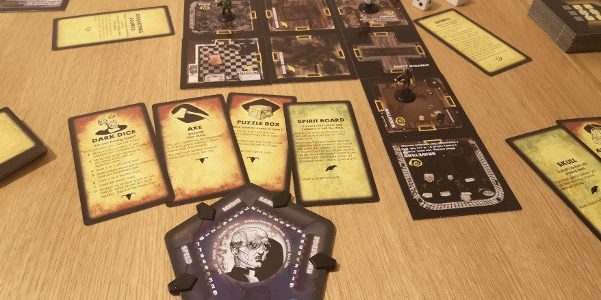 Betrayal at House on the Hill in full flow