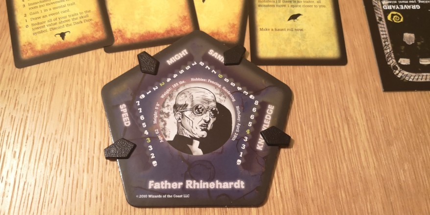 Betrayal at House on the Hill - Father Rhinehardt