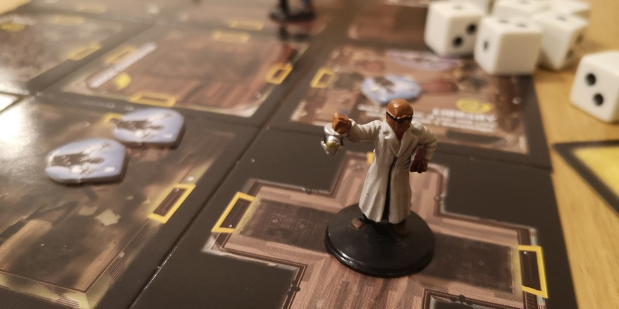 Betrayal at House on the Hill - characters in trouble