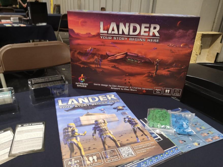 Lander Box UKGE 2019