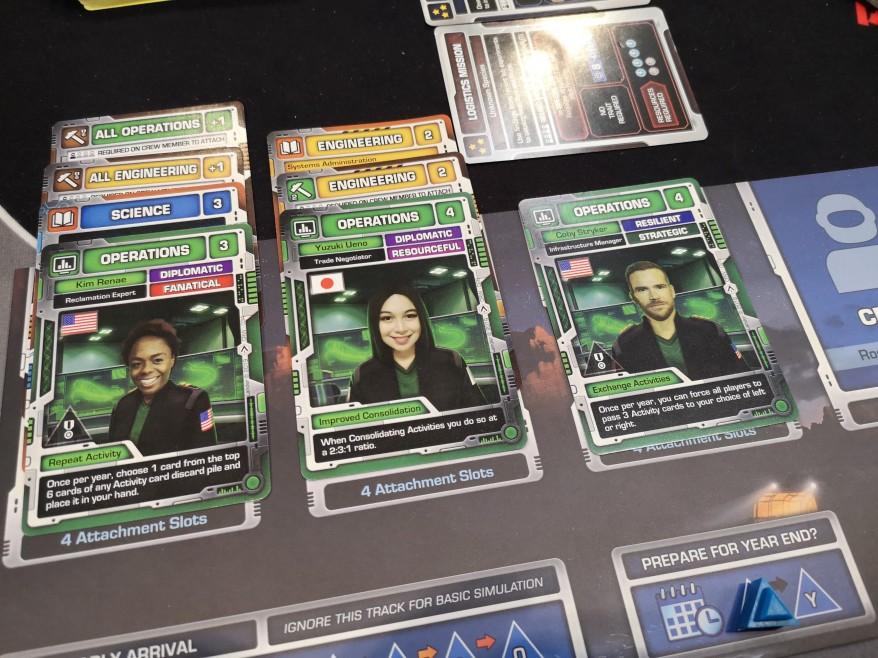 Lander Crew Examples