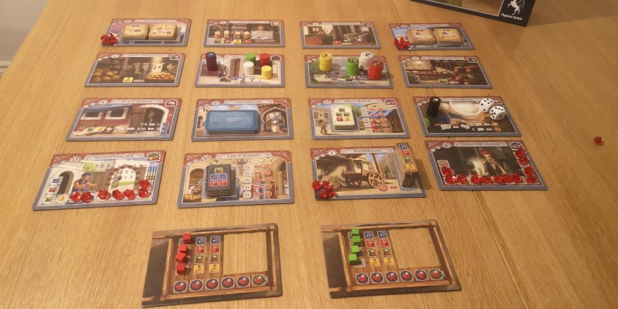 Istanbul Board Game Review - 16 Buildings