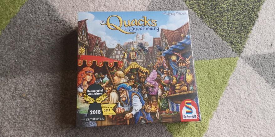 The box of the Quacks of Quedlinburg