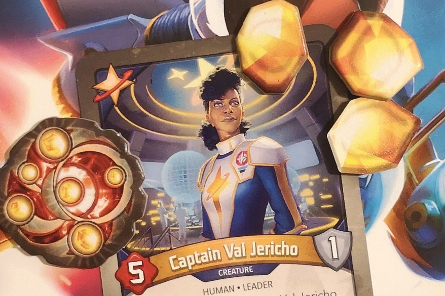 Keyforge - Captain Val Jericho of the Star Alliance