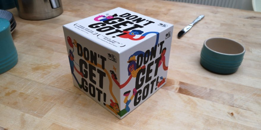 An image of the box of Don't Get Got