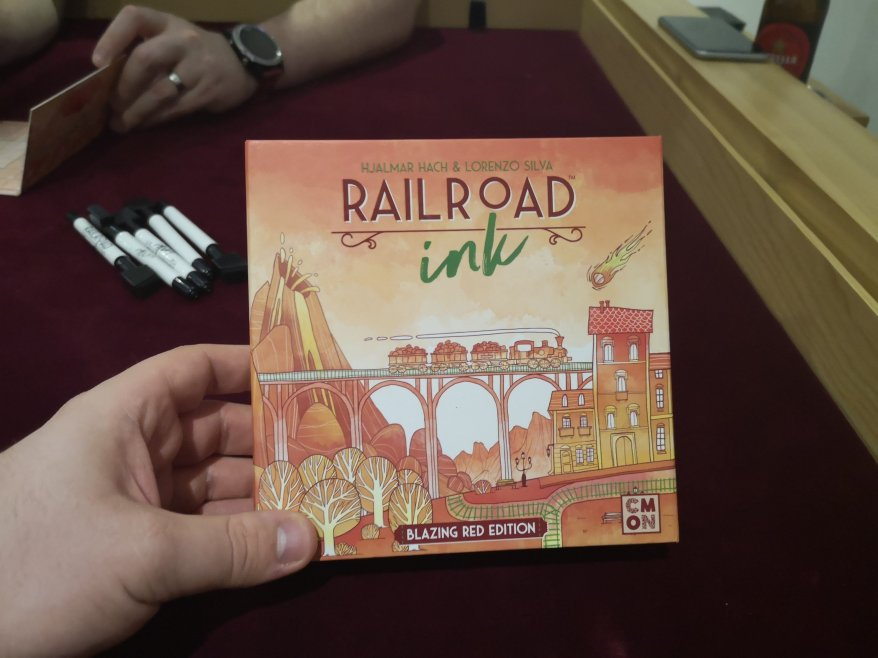 Best Roll and Write Games - Railroad Ink