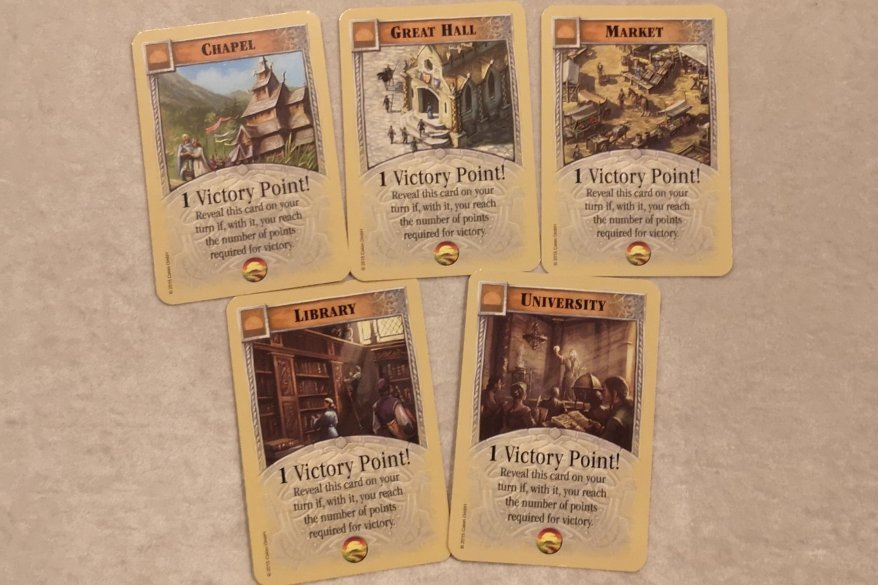 Catan - Victory Point Development Cards