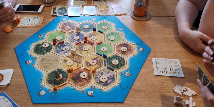 Early Catan Game