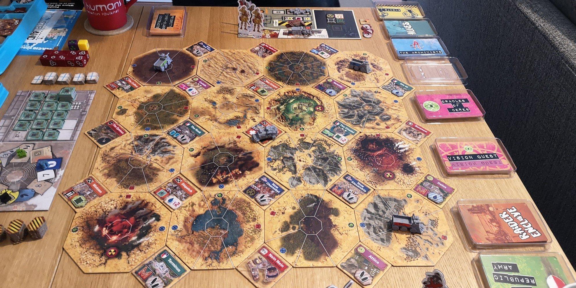 Pre-Game Board