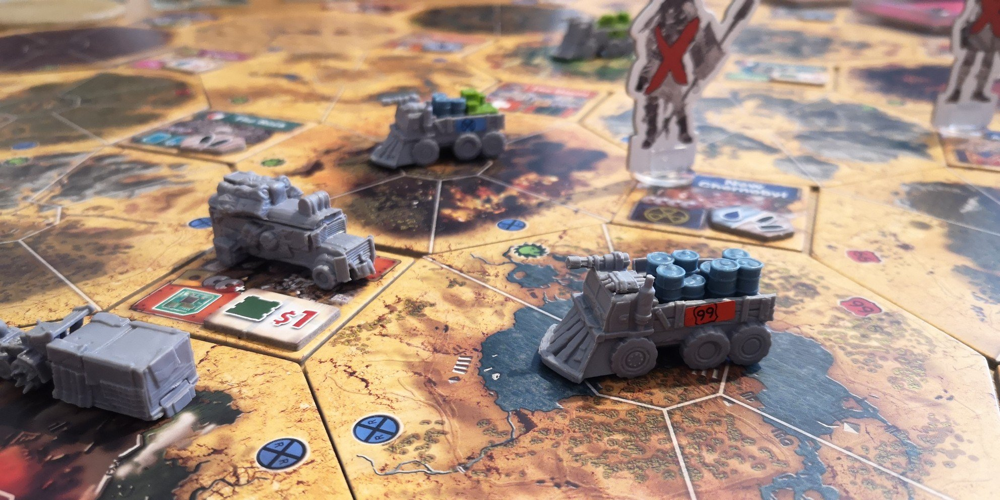 Games like Gloomhaven - Wasteland Express Delivery Service