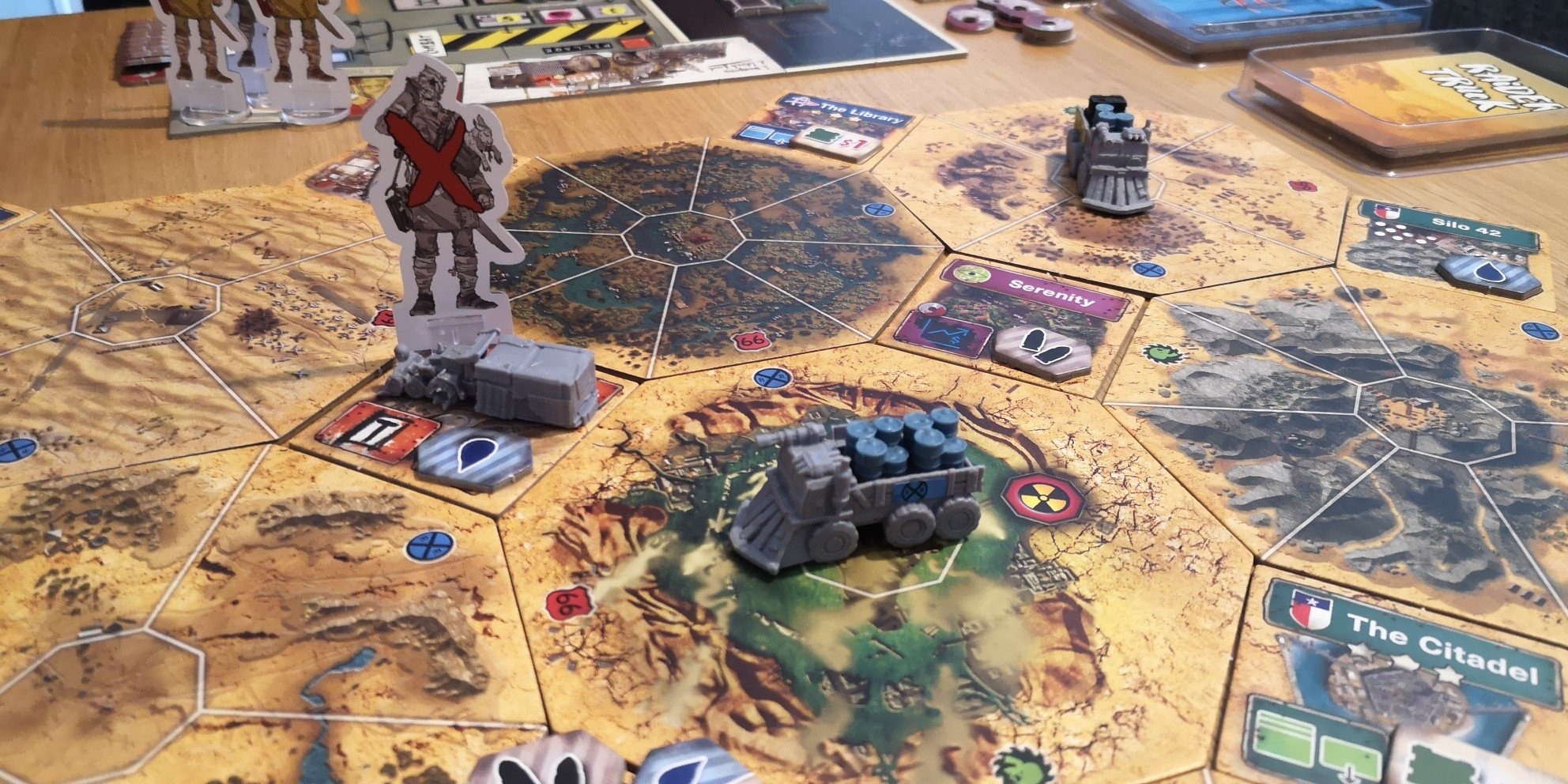 Wasteland Express Busy Board