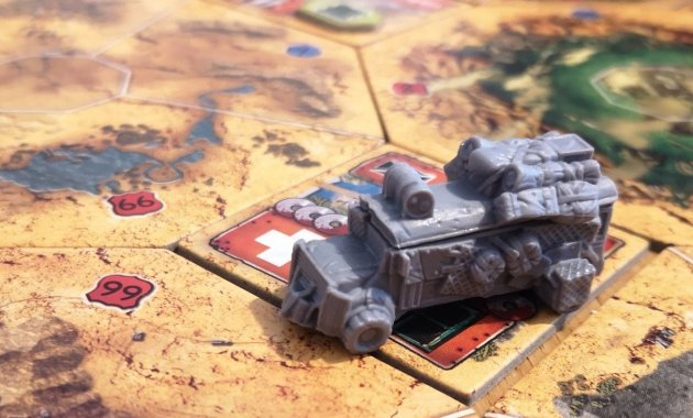Wasteland Express Board Game First Impressions