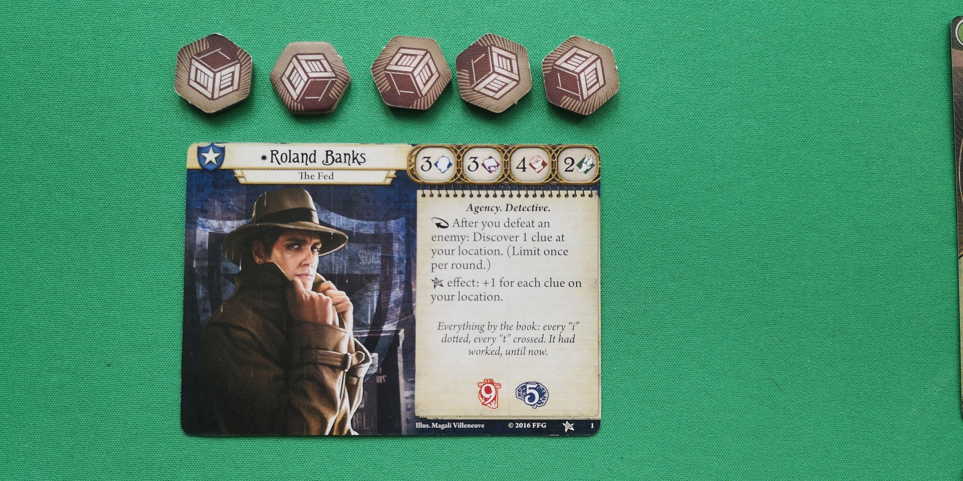 Arkham Horror: The Card Game - Roland Banks
