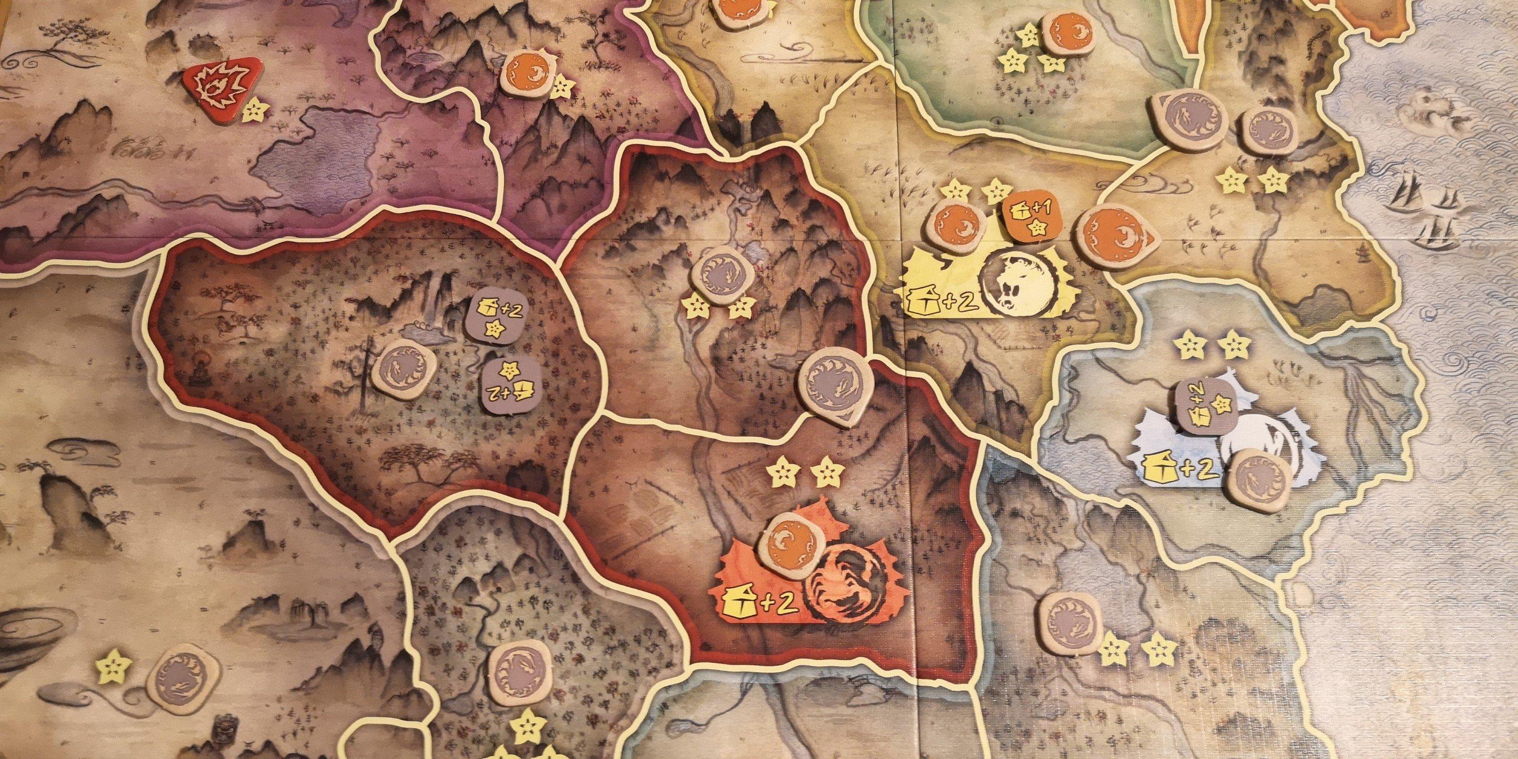 Battle for Rokugan: Crab vs Phoenix