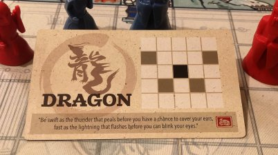 Dragon from the Onitama Board game