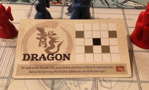 Dragon from the Onitama Board game