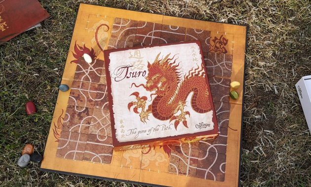 Tsuro Board Game Review